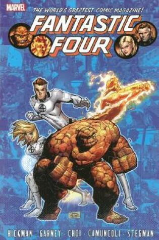 Cover of Fantastic Four By Jonathan Hickman - Volume 6