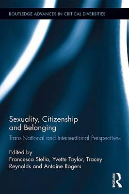 Cover of Sexuality, Citizenship and Belonging