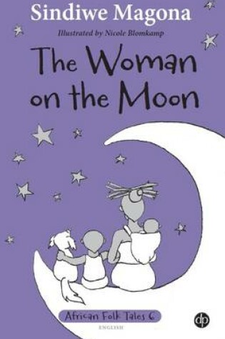 Cover of The woman on the moon