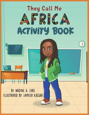 Book cover for They Call Me Africa Activity Book
