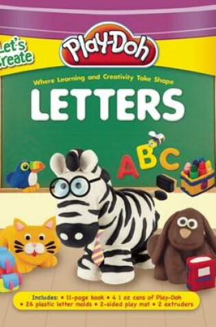 Cover of Play-Doh Let's Create: Letters