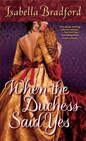 Book cover for When the Duchess Said Yes