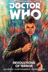 Book cover for Doctor Who: The Tenth Doctor Volume 1 - Revolutions of Terror