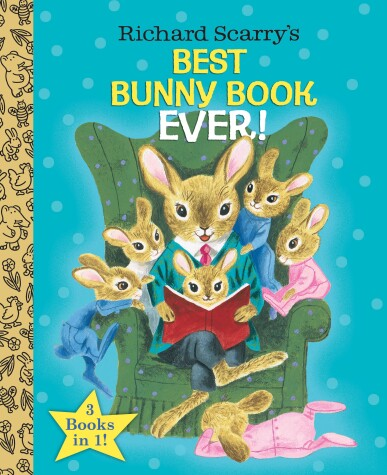 Cover of Richard Scarry's Best Bunny Book Ever!