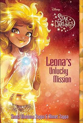 Book cover for Star Darlings Leona's Unlucky Mission