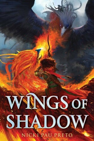 Book cover for Wings of Shadow