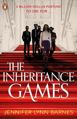 Book cover for The Inheritance Games