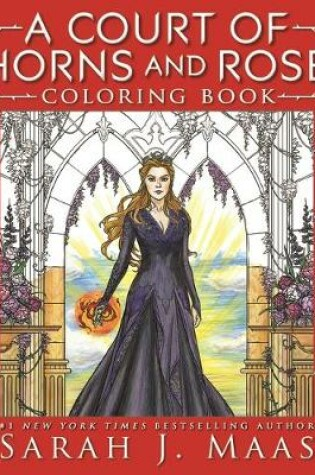 Cover of A Court of Thorns and Roses Coloring Book