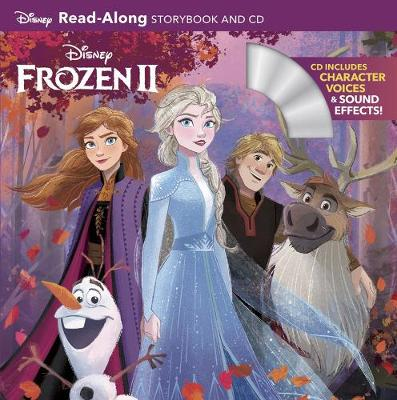 Book cover for Frozen 2 Read-along Storybook And Cd