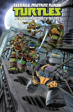 Cover of Teenage Mutant Ninja Turtles: New Animated Adventures Volume 3