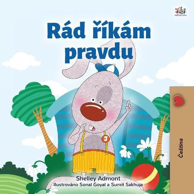 Cover of I Love to Tell the Truth (Czech Children's Book)