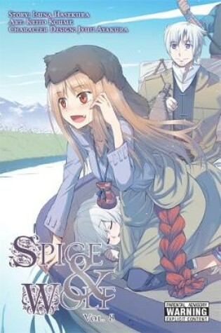 Cover of Spice and Wolf, Vol. 8 (manga)