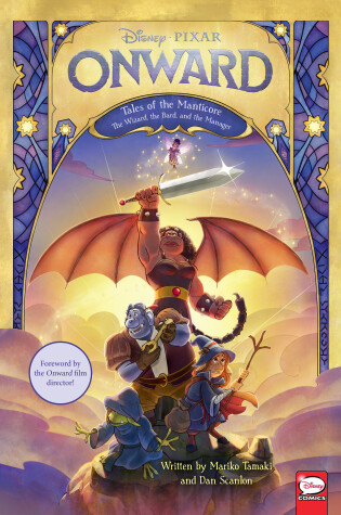 Cover of Disney/Pixar Onward: Tales of the Manticore
