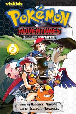 Cover of Pokemon Adventures: Black and White, Vol. 2