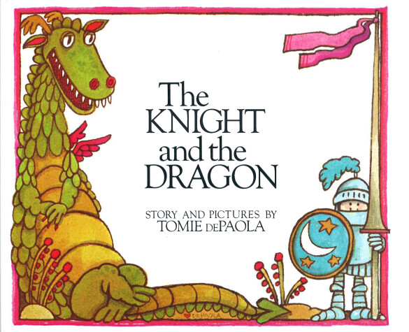 Cover of The Knight and the Dragon