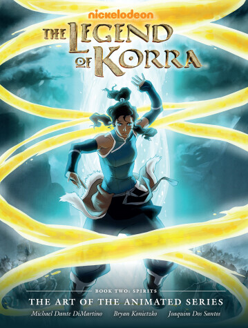 Cover of Legend Of Korra: The Art Of The Animated Series Book 2