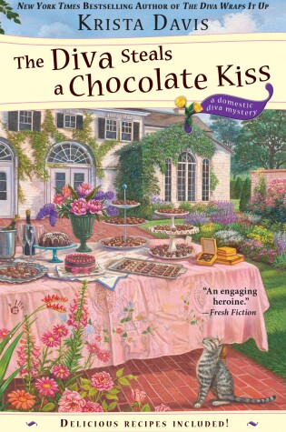Cover of The Diva Steals A Chocolate Kiss