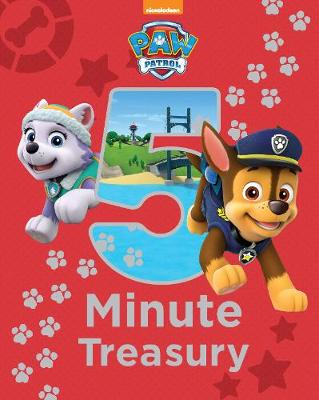 Cover of Nickelodeon PAW Patrol 5-Minute Treasury