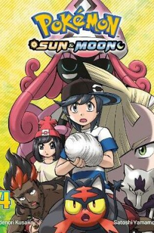 Cover of Pokemon: Sun & Moon, Vol. 4