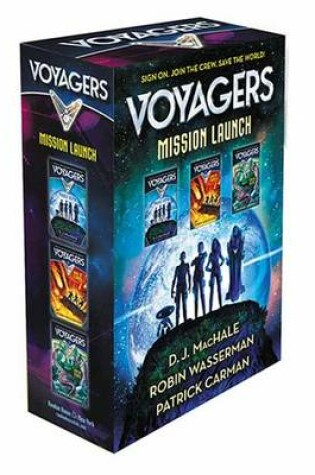 Cover of Voyagers Mission Launch Boxed Set (Books 1-3)