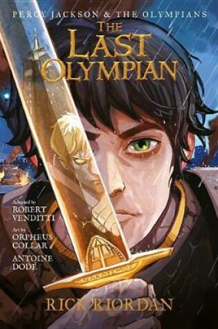 Cover of The Last Olympian: The Graphic Novel