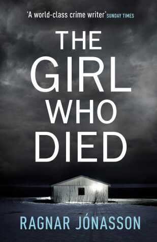 Book cover for The Girl Who Died