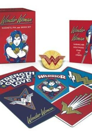 Cover of Wonder Woman: Magnets, Pin, and Book Set