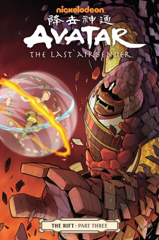 Cover of Avatar: The Last Airbender - The Rift Part 3