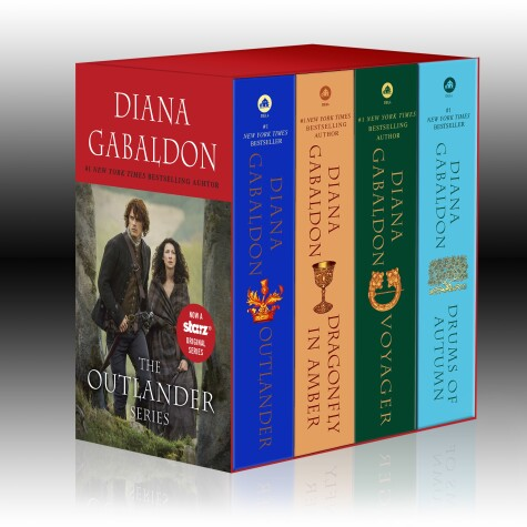 Cover of Outlander 4-Copy Boxed Set