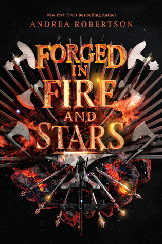 Cover of Forged in Fire and Stars